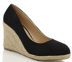 women s parma round toe espadrille wedge