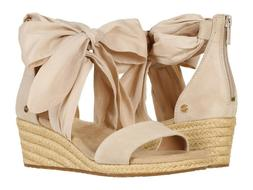 Women's Shoes UGG TRINA Ribbon Tie Espadrille Wedge Sandals