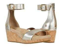 Women's Shoes UGG ZOE II Open Toe Ankle Strap Wedge Sandals
