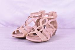 Women's Lifestride Yacht Strappy Wedge Sandals, Soft Taupe