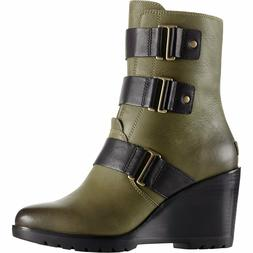 SOREL Womens After Hours Leather Bootie
