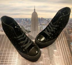 Converse Womens Chuck Taylor All Star Lux Mid Top Wedge Blac