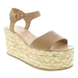 Dolce Vita Womens Dane Braided Wedge Open Toe Espadrilles Sa