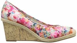 LifeStride Womens Listed Closed Toe Wedge Pumps