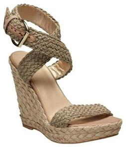 womens nib alex crochet wedge sandal ankle